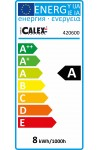 Calex Led Lamp Power - B22 8W 500lm 2700K 240V Dimbaar